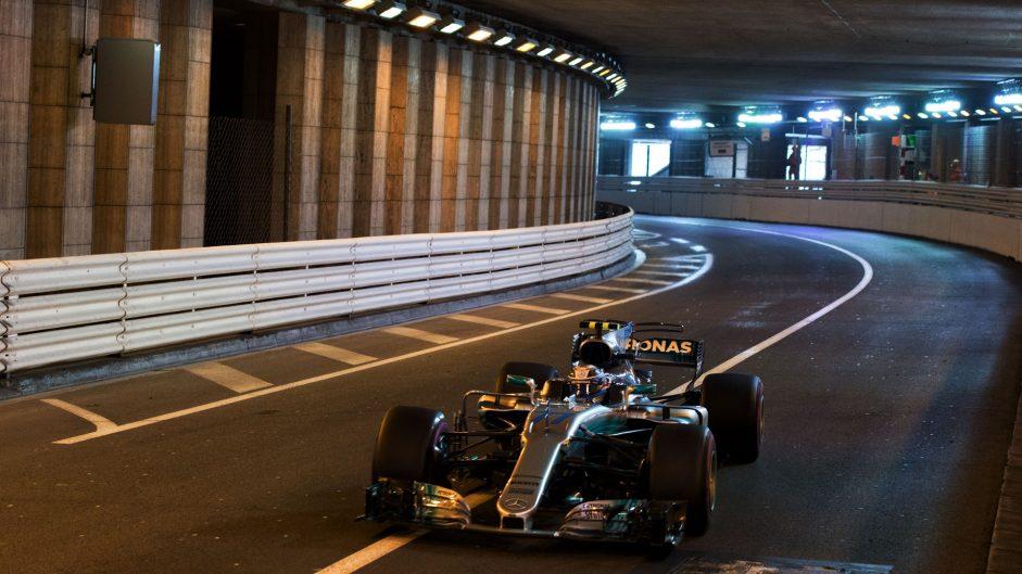 Valtteri Bottas, Mercedes, Monaco, 2017