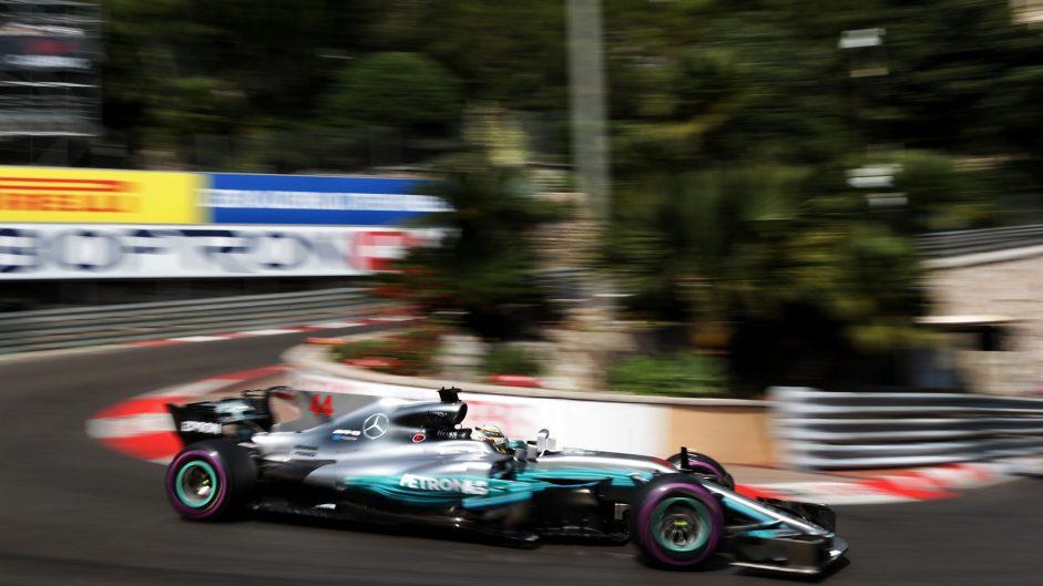 Lewis Hamilton, Mercedes, Monaco, 2017