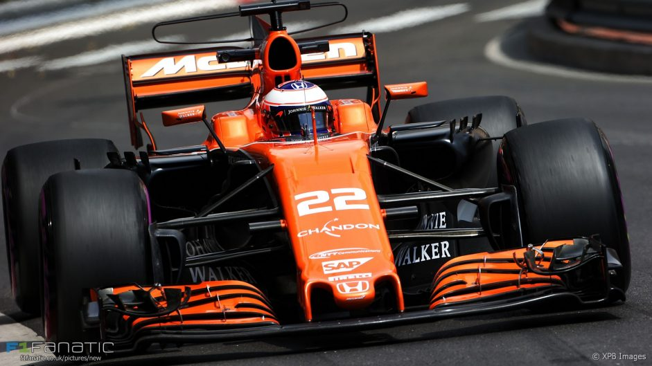 Button hit with 15-place power unit grid penalty