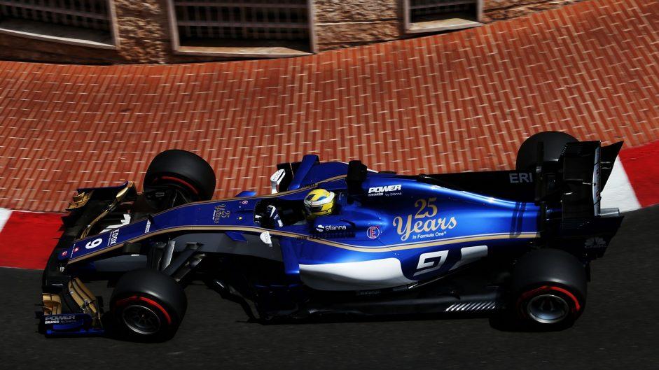 Marcus Ericsson, Sauber, Monaco, 2017