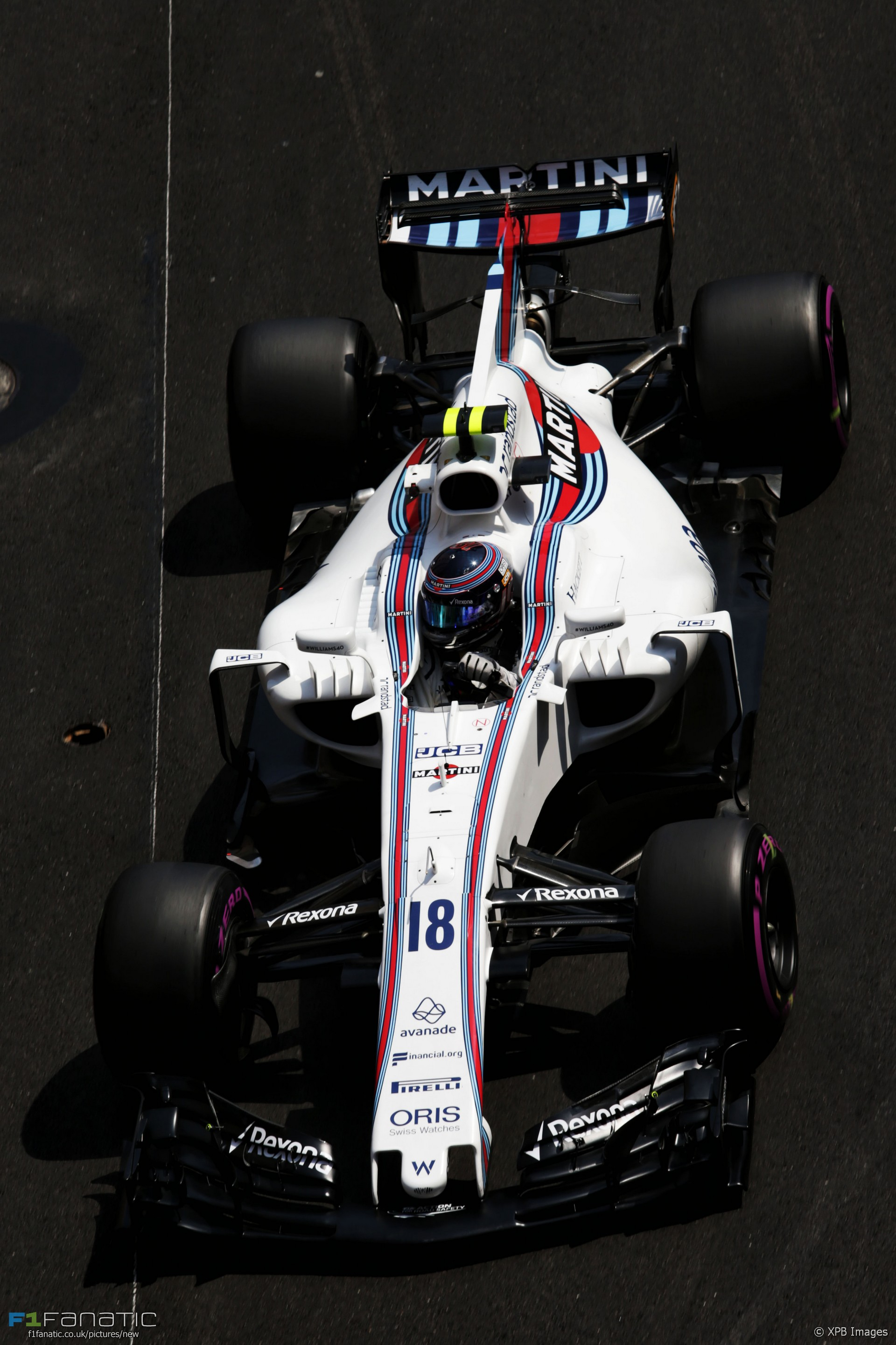lance stroll williams monaco 2017 f1 fanatic. Black Bedroom Furniture Sets. Home Design Ideas