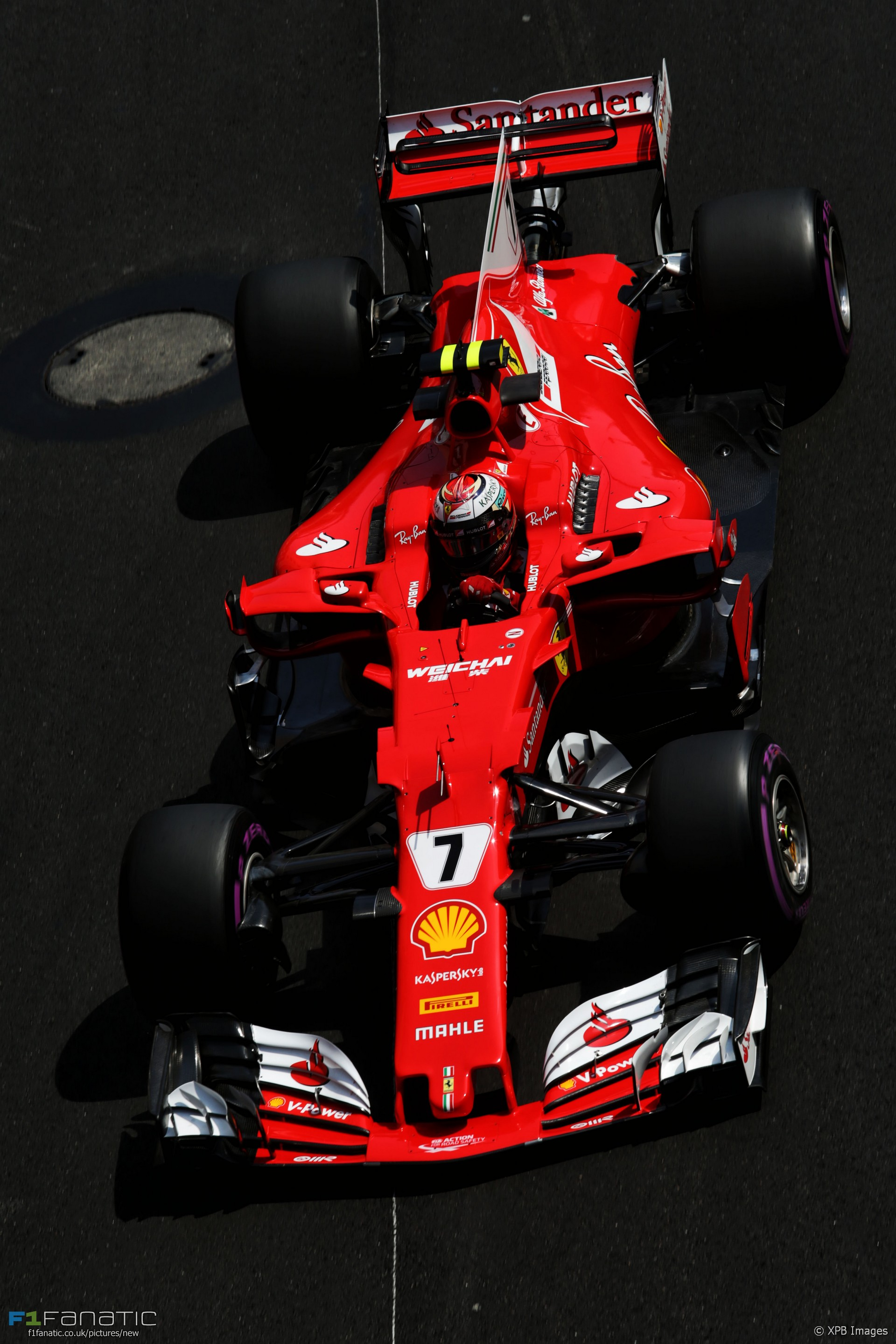 kimi raikkonen ferrari monaco 2017 f1 fanatic. Black Bedroom Furniture Sets. Home Design Ideas