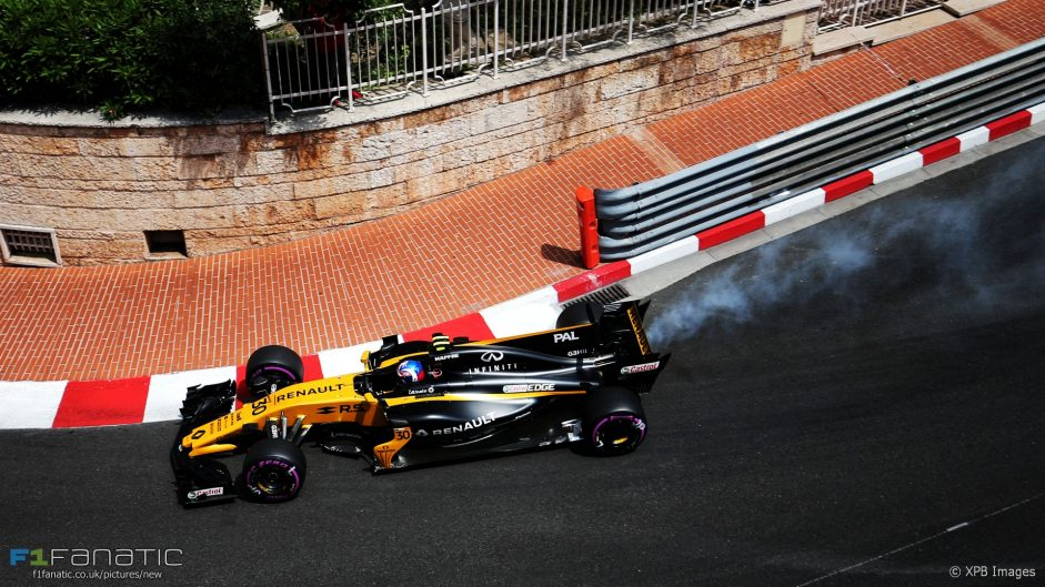 2017 Monaco Grand Prix practice in pictures