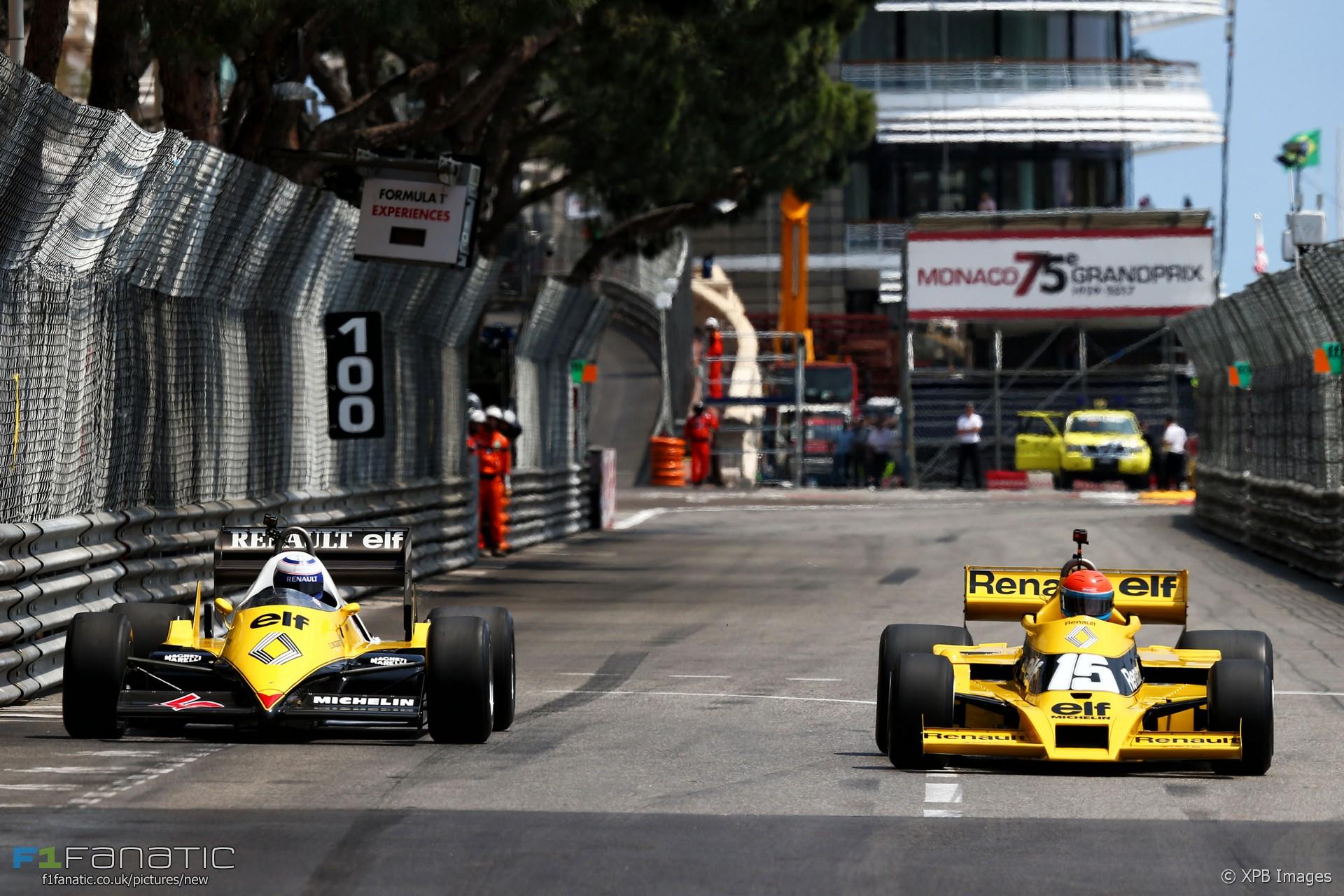 Alain Prost, Jean-Pierre Jabouille, Renault, Monaco, 2017