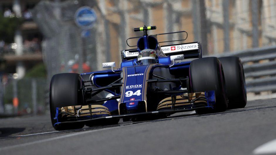Pascal Wehrlein, Sauber, Monaco, 2017