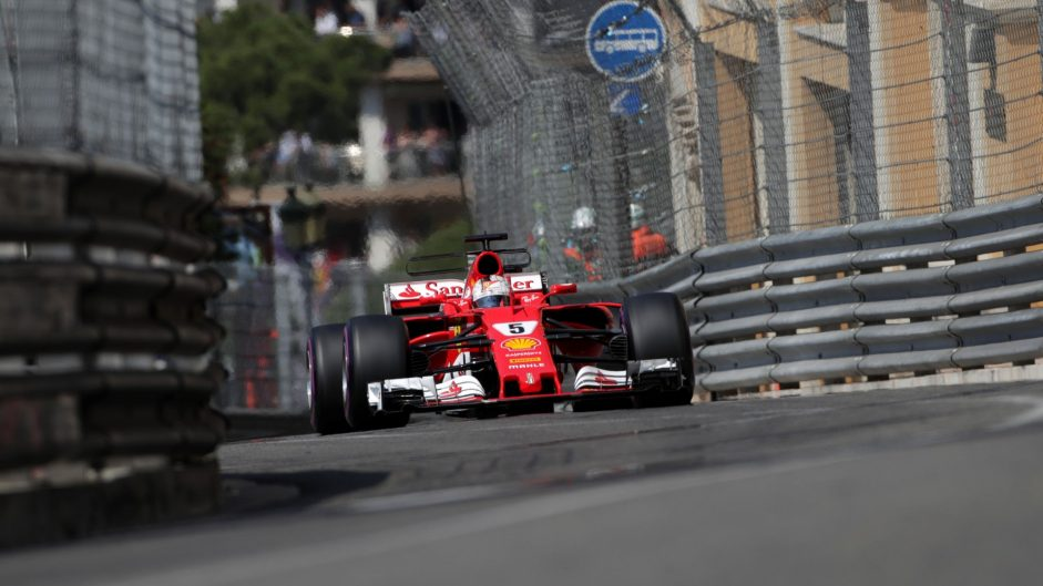 2017 Monaco Grand Prix race result