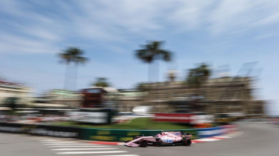 Esteban Ocon, Force India, Monaco, 2017
