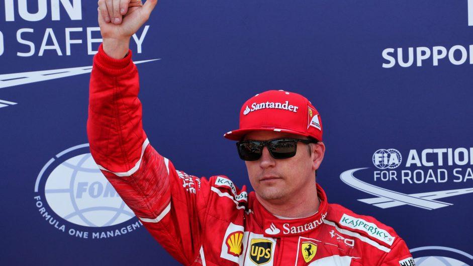 Raikkonen takes first pole for nine years, Hamilton starts midfield in Monaco