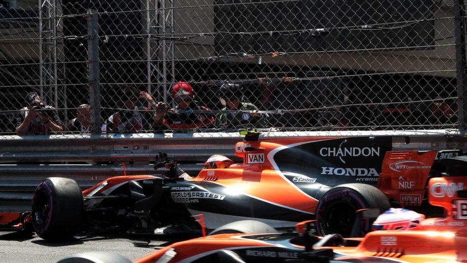 Stoffel Vandoorne, McLaren, Monaco, 2017