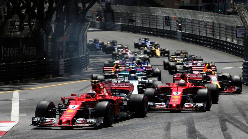 Kimi Raikkonen, Ferrari, Monaco, 2017