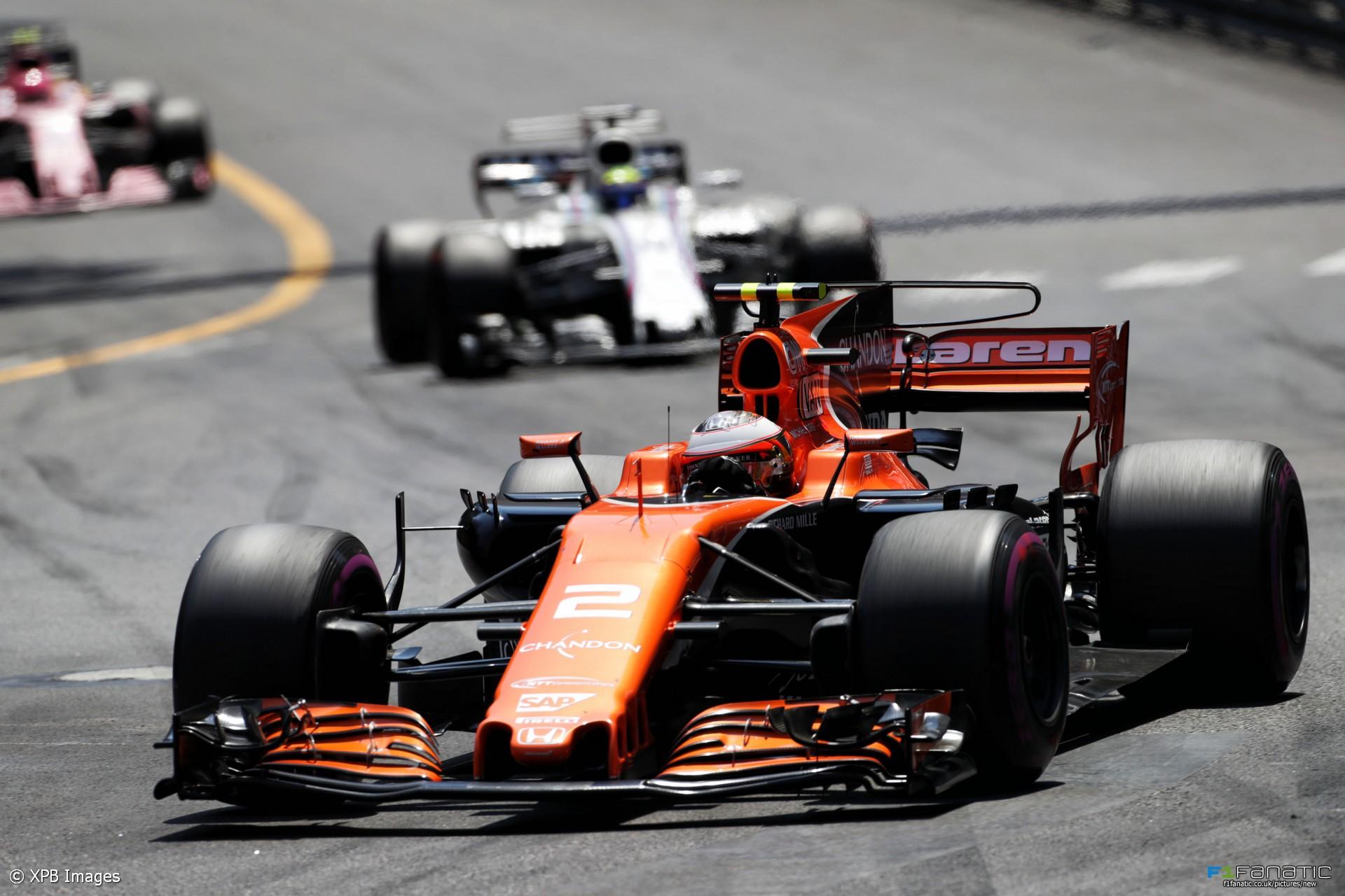 Stoffel Vandoorne Mclaren Monaco 2017 F1 Fanatic