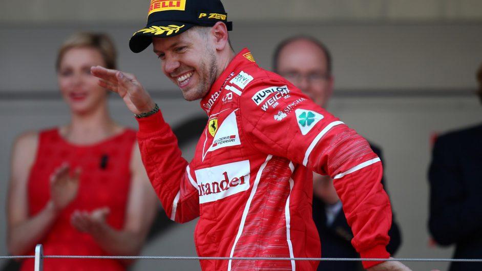 Sebastian Vettel, Ferrari, Monaco, 2017