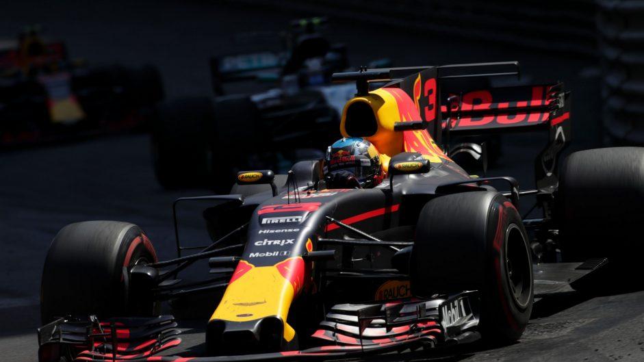2017 Monaco Grand Prix tyre strategies and pit stops