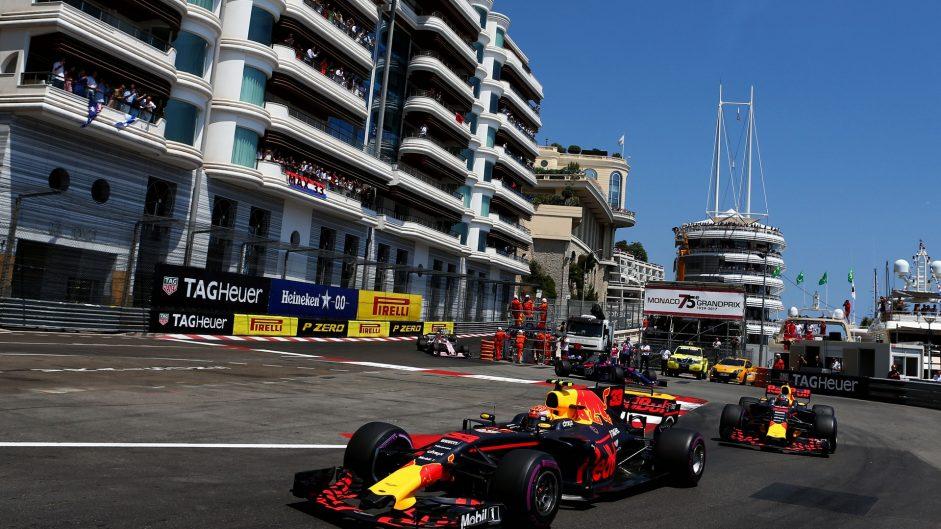 Max Verstappen, Red Bull, Monaco, 2017