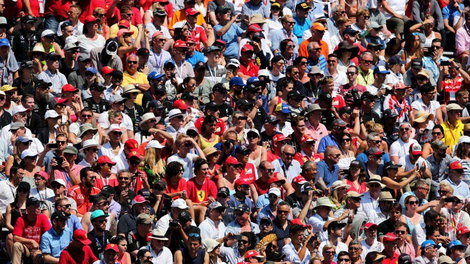 Fans, Ferrari, Monaco, 2017
