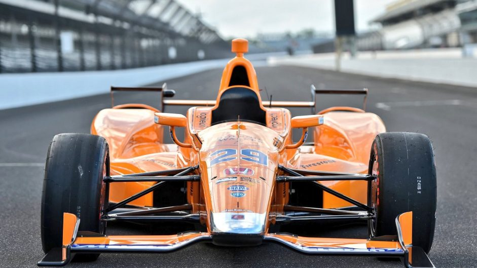 Pictures: Alonso's Indy 500 car revealed