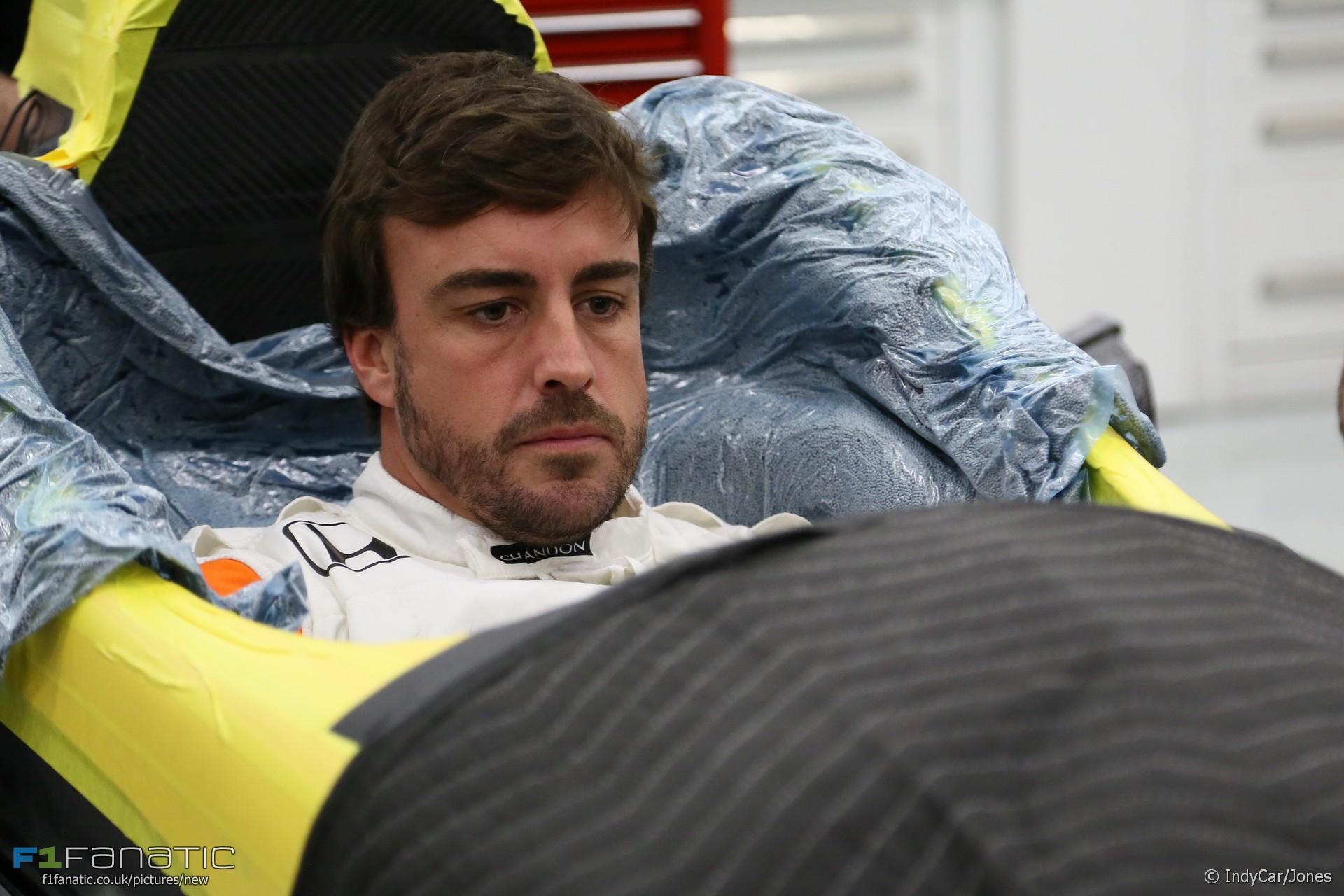 Fernando Alonso, Andretti, 2017