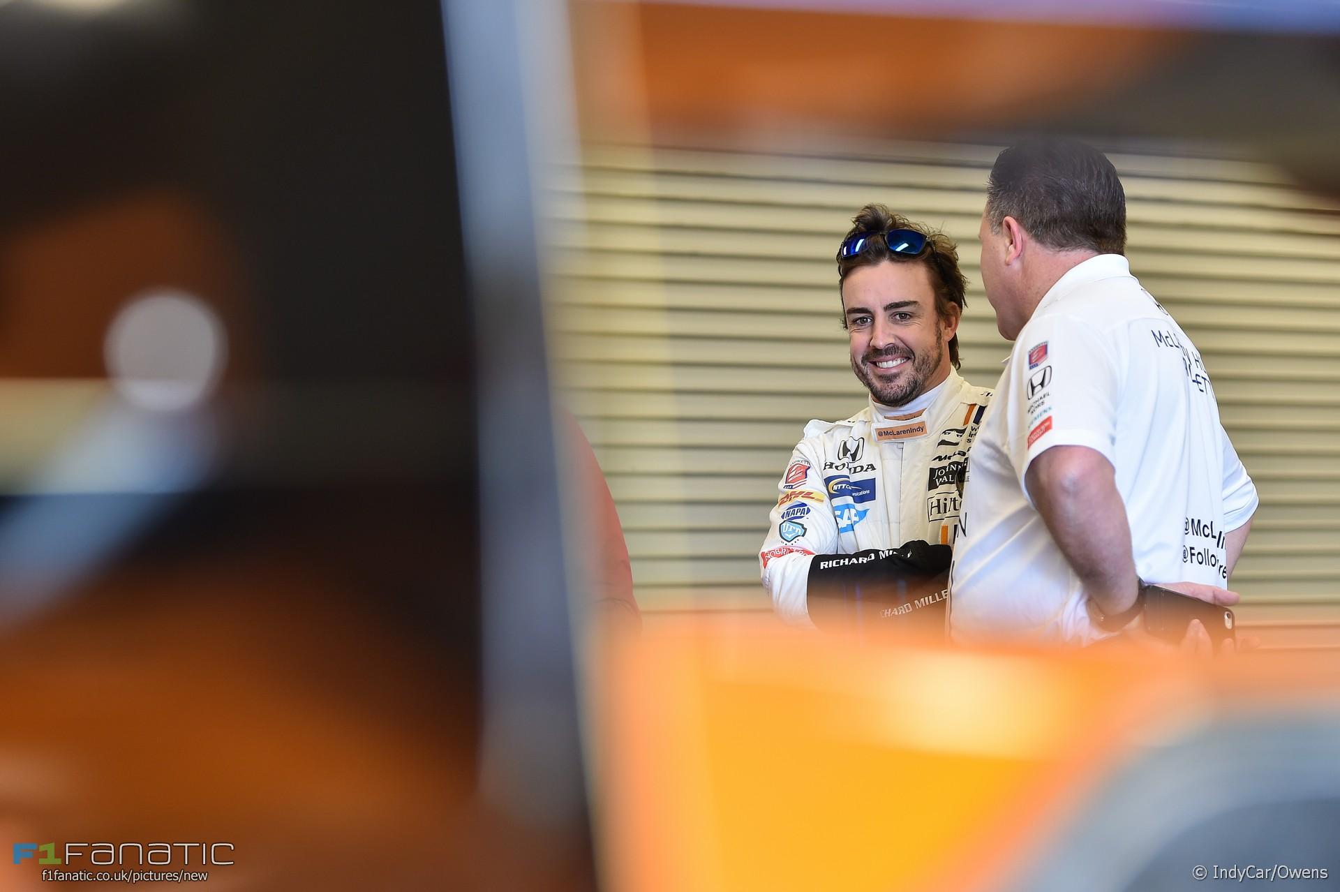 Fernando Alonso, McLaren Honda Andretti, IndyCar ...
