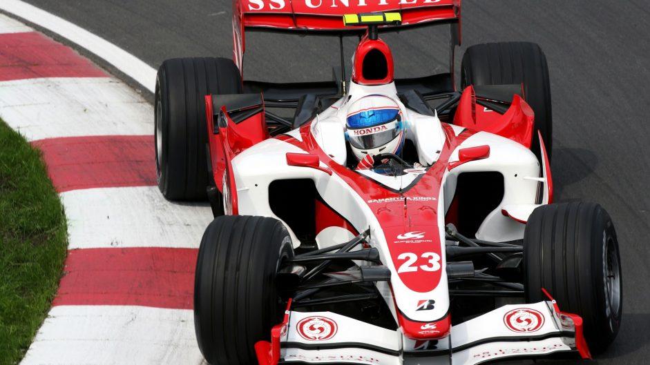 Anthony Davidson, Super Aguri, Circuit Gilles Villeneuve, Montreal, 2007