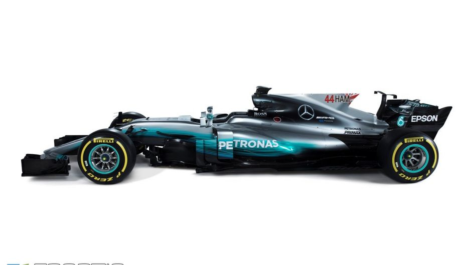 Mercedes driver graphics, 2017