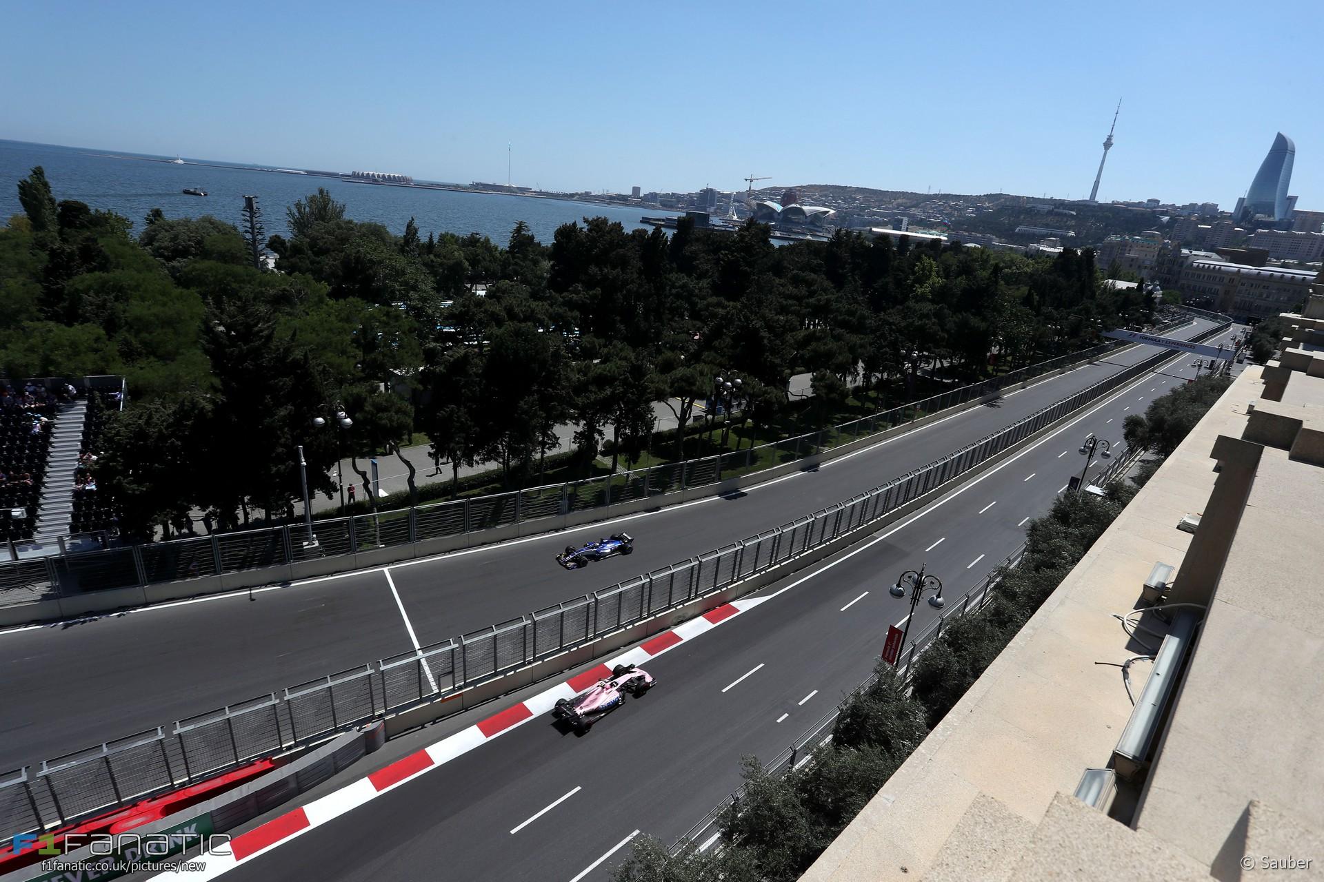 Marcus Ericsson, Sauber, Baku City Circuit, 2017