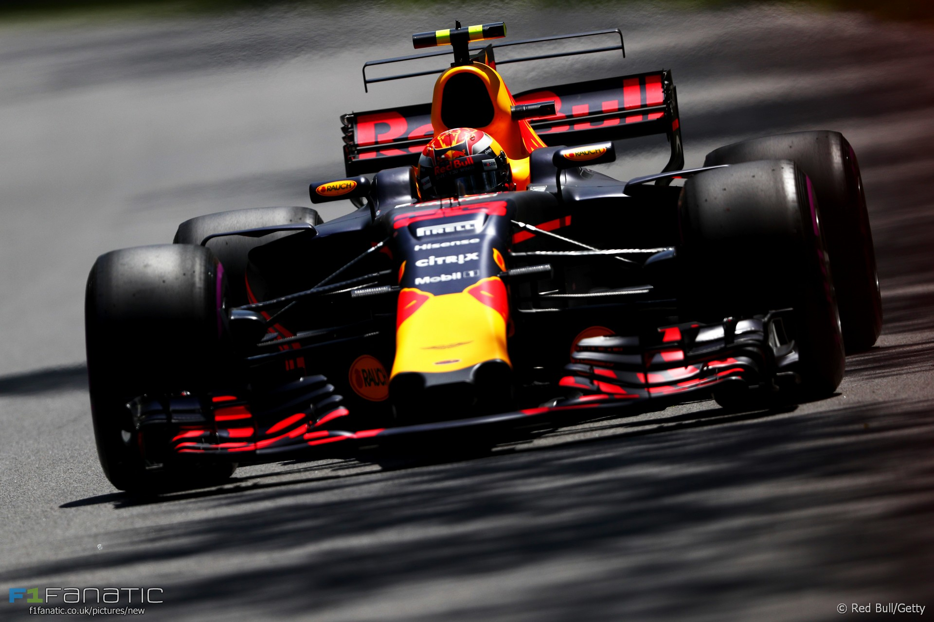 Max Verstappen, Red Bull, Circuit Gilles Villeneuve, 2017