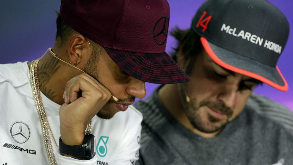 Lewis Hamilton, Fernando Alonso, Circuit Gilles Villeneuve, 2017