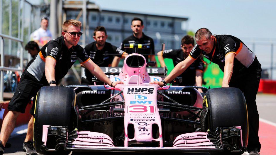 Force India VJM10, Circuit Gilles Villeneuve, 2017