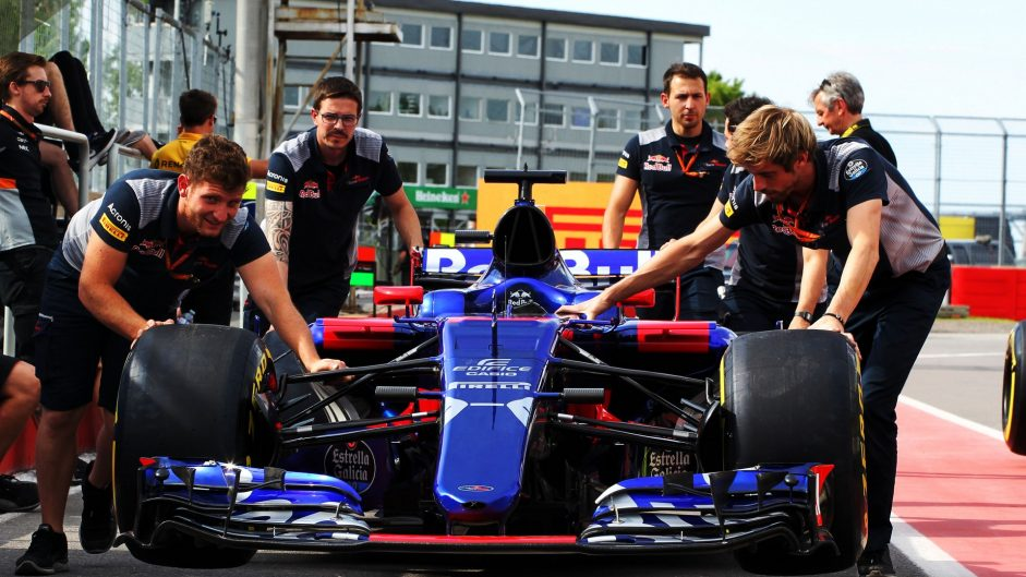 Toro Rosso STR12, Circuit Gilles Villeneuve, 2017
