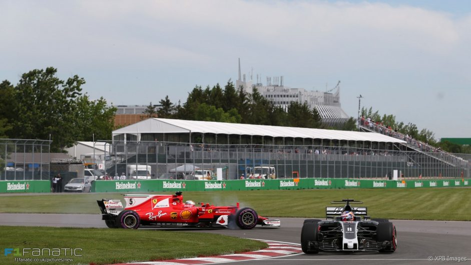 2017 Canadian Grand Prix practice in pictures