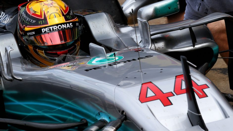 Hamilton quickest as Alonso's return is halted by breakdown