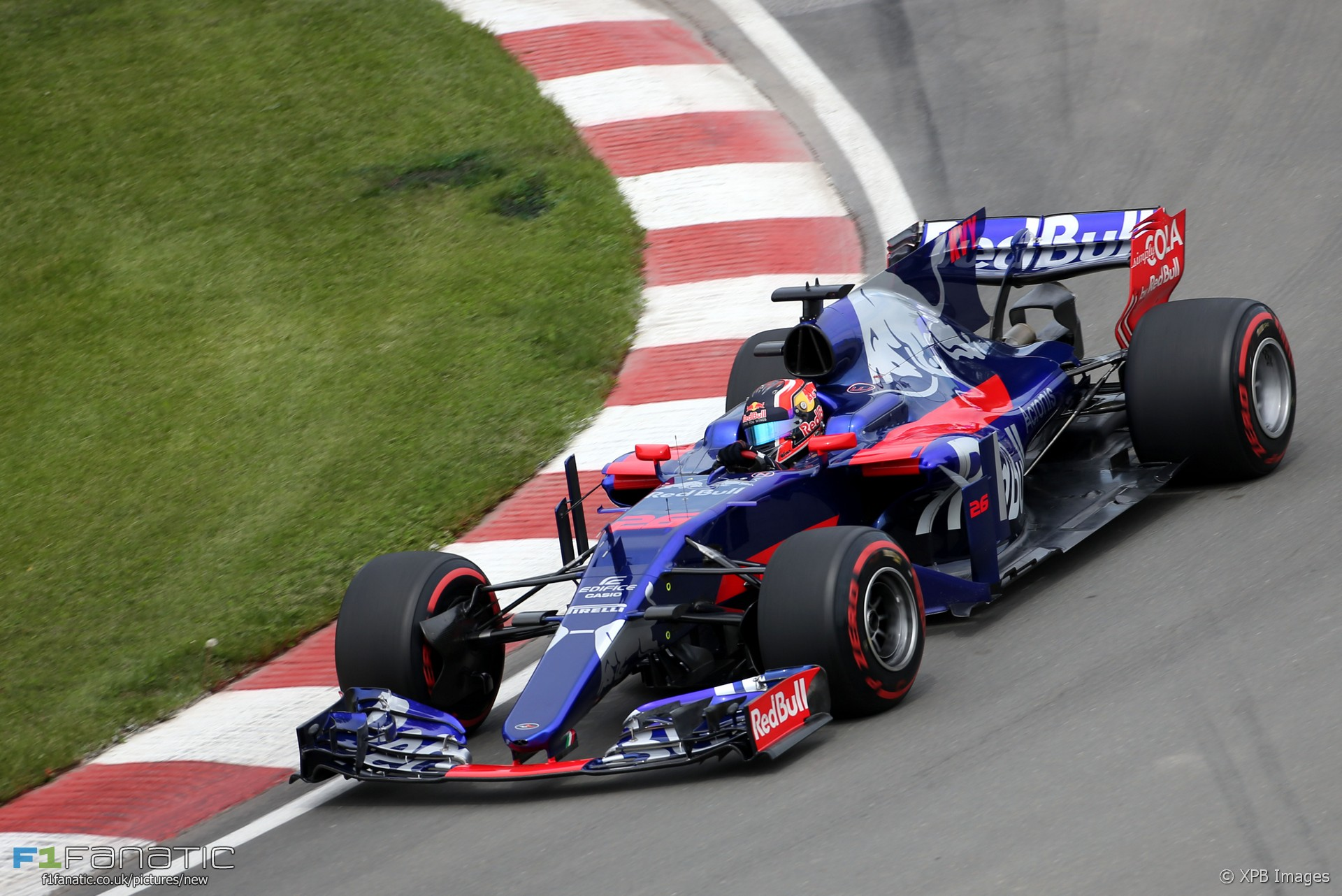 Daniil Kvyat, Toro Rosso, Circuit Gilles Villeneuve, 2017