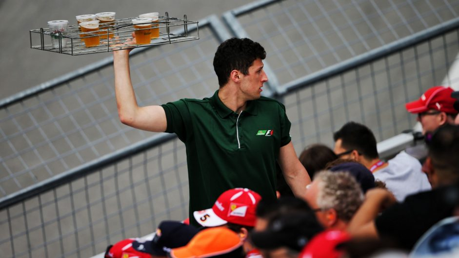 Beer vendor, Circuit Gilles Villeneuve, 2017