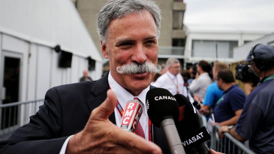 Chase Carey, Circuit Gilles Villeneuve, 2017