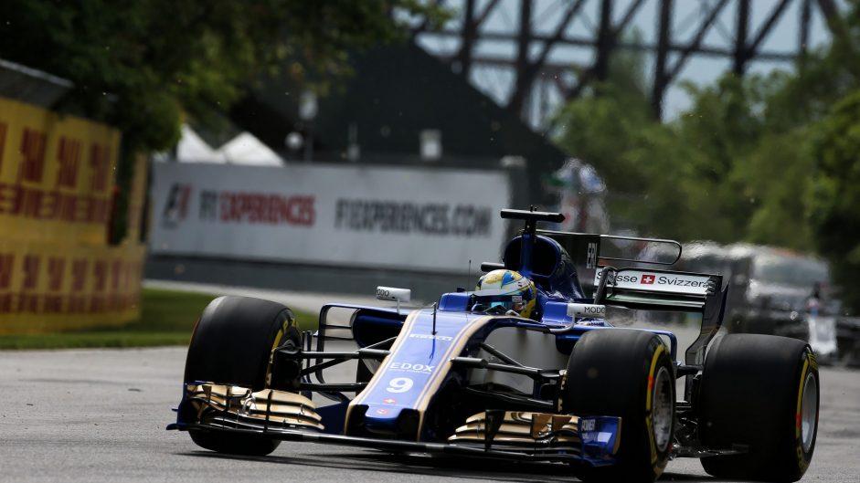 Marcus Ericsson, Sauber, Circuit Gilles Villeneuve, 2017
