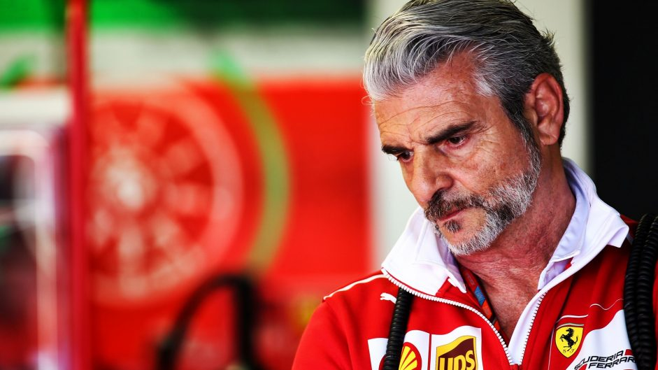 """Arrivabene """"laughing"""" at claims Vettel is team's number one"""