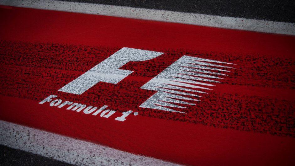 F1 logo, Circuit Gilles Villeneuve, 2017