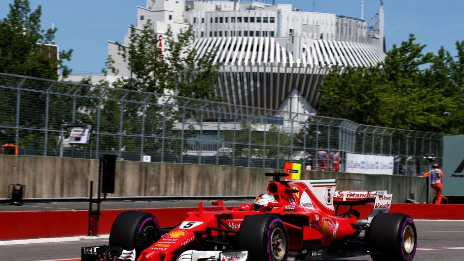Sebastian Vettel, Ferrari, Circuit Gilles Villeneuve, 2017