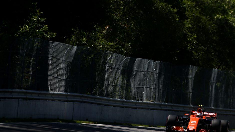 Stoffel Vandoorne, McLaren, Circuit Gilles Villeneuve, 2017