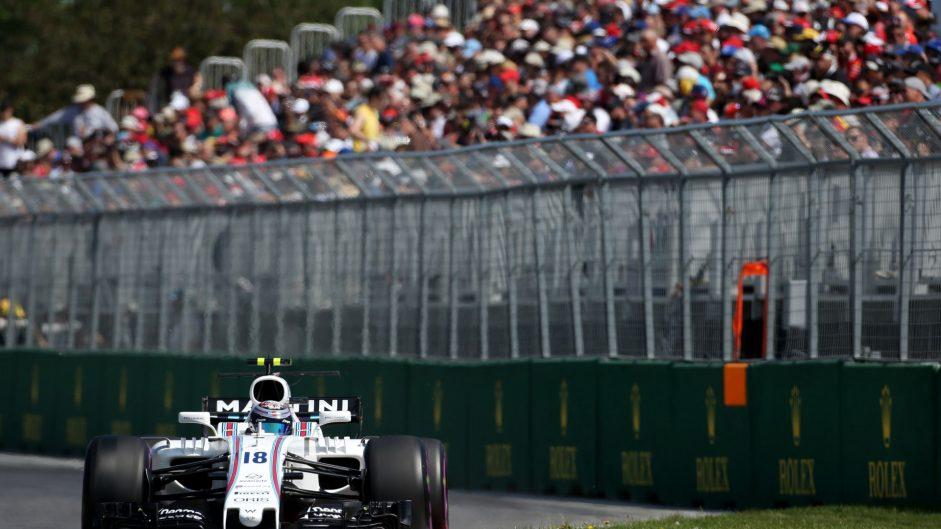 Lance Stroll, Williams, Circuit Gilles Villeneuve, 2017