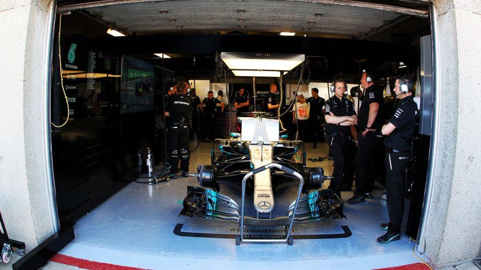 Lewis Hamilton, Mercedes, Circuit Gilles Villeneuve, 2017