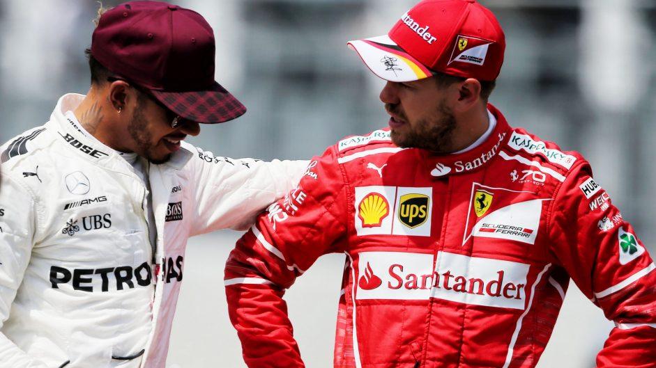 Lewis Hamilton, Sebastian Vettel, Circuit Gilles Villeneuve, 2017