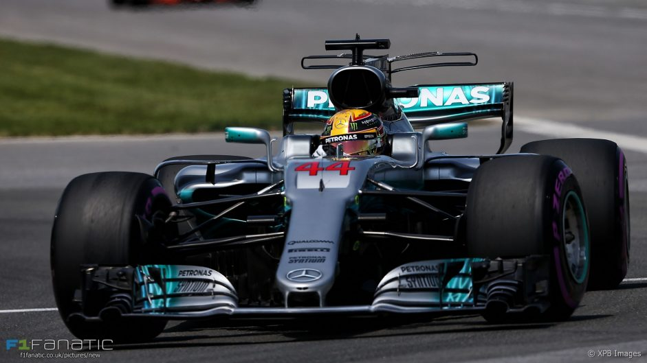 Lap time watch: F1's record-breaking streak continues in Canada