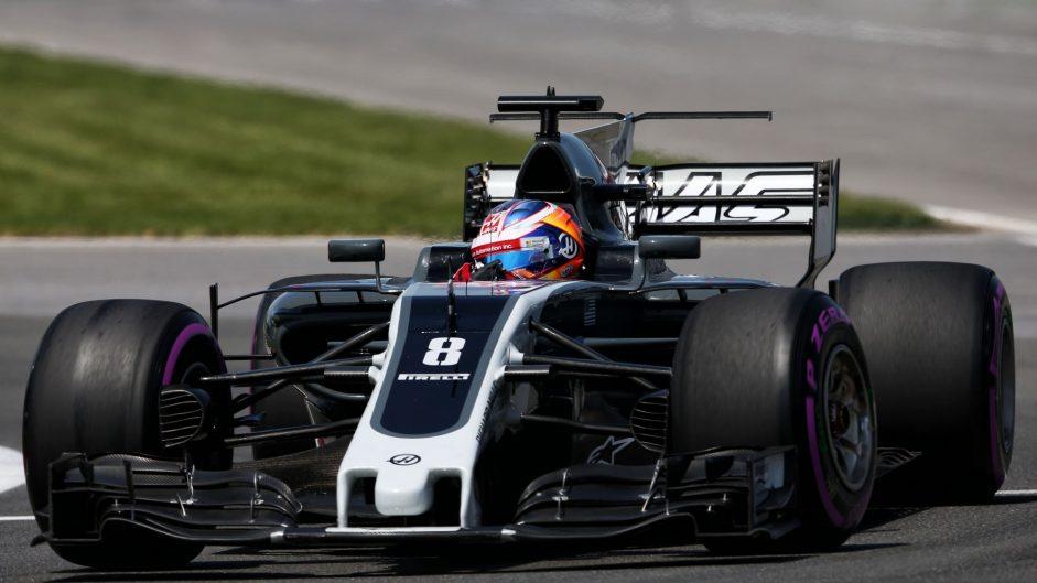Romain Grosjean, Haas, Circuit Gilles Villeneuve, 2017