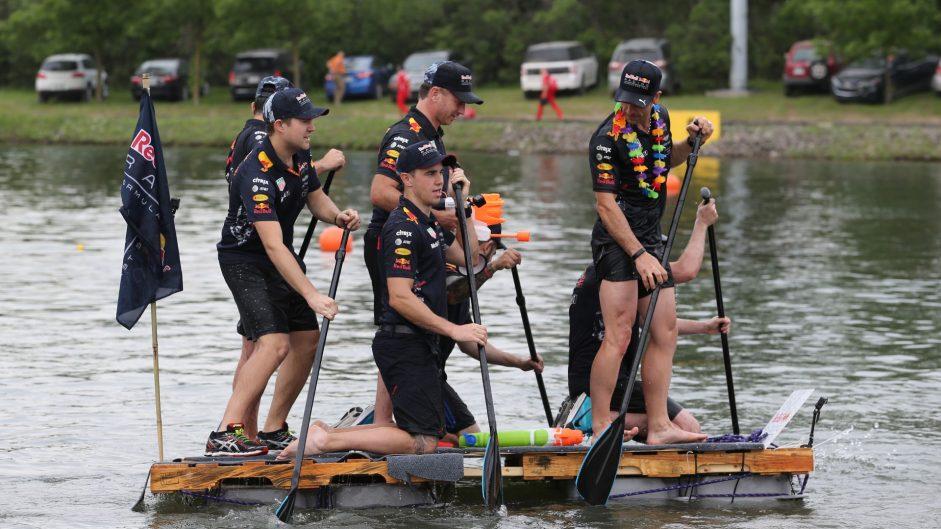 Red Bull, F1 raft race, Circuit Gilles Villeneuve, Montreal, 2017