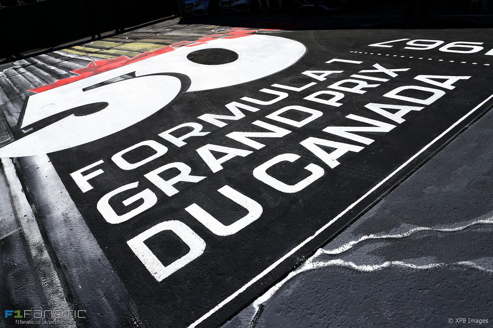 50 years of the Canadian Grand Prix celebrations, Circuit Gilles Villeneuve, 2017