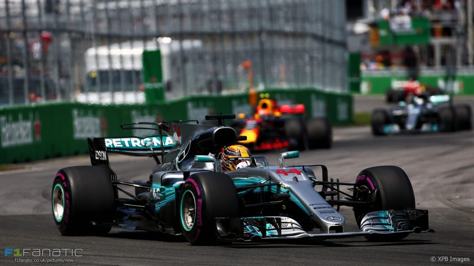 Hamilton takes sixth Canadian GP win in lively race