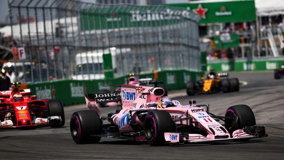 Sergio Perez, Force India, Circuit Gilles Villeneuve, 2017