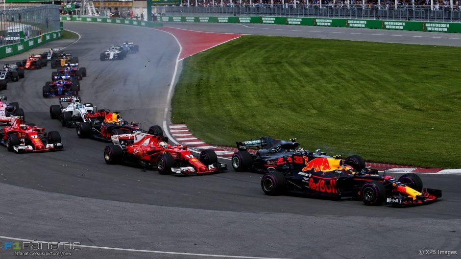 Vettel not blaming Verstappen for lap one contact