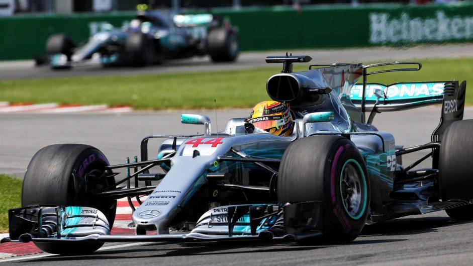2017 Canadian Grand Prix race result